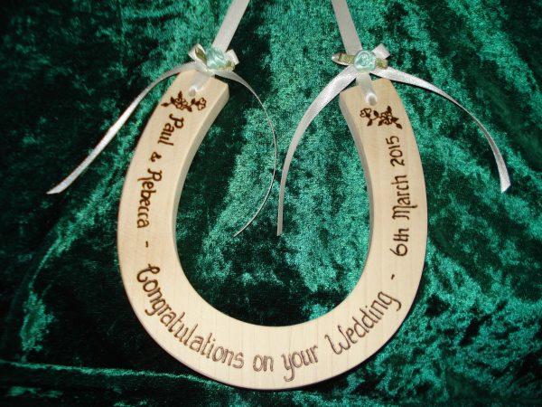 Personalised Standard Wedding Horseshoe