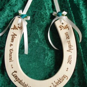 Personalised Standard Wedding Horseshoe