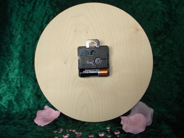 Pyrography Clock