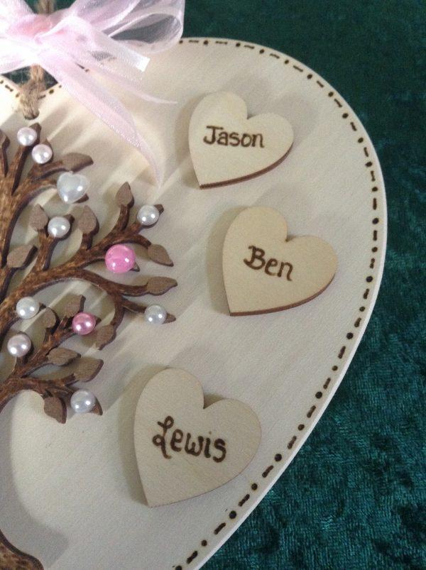 Heart Family Tree