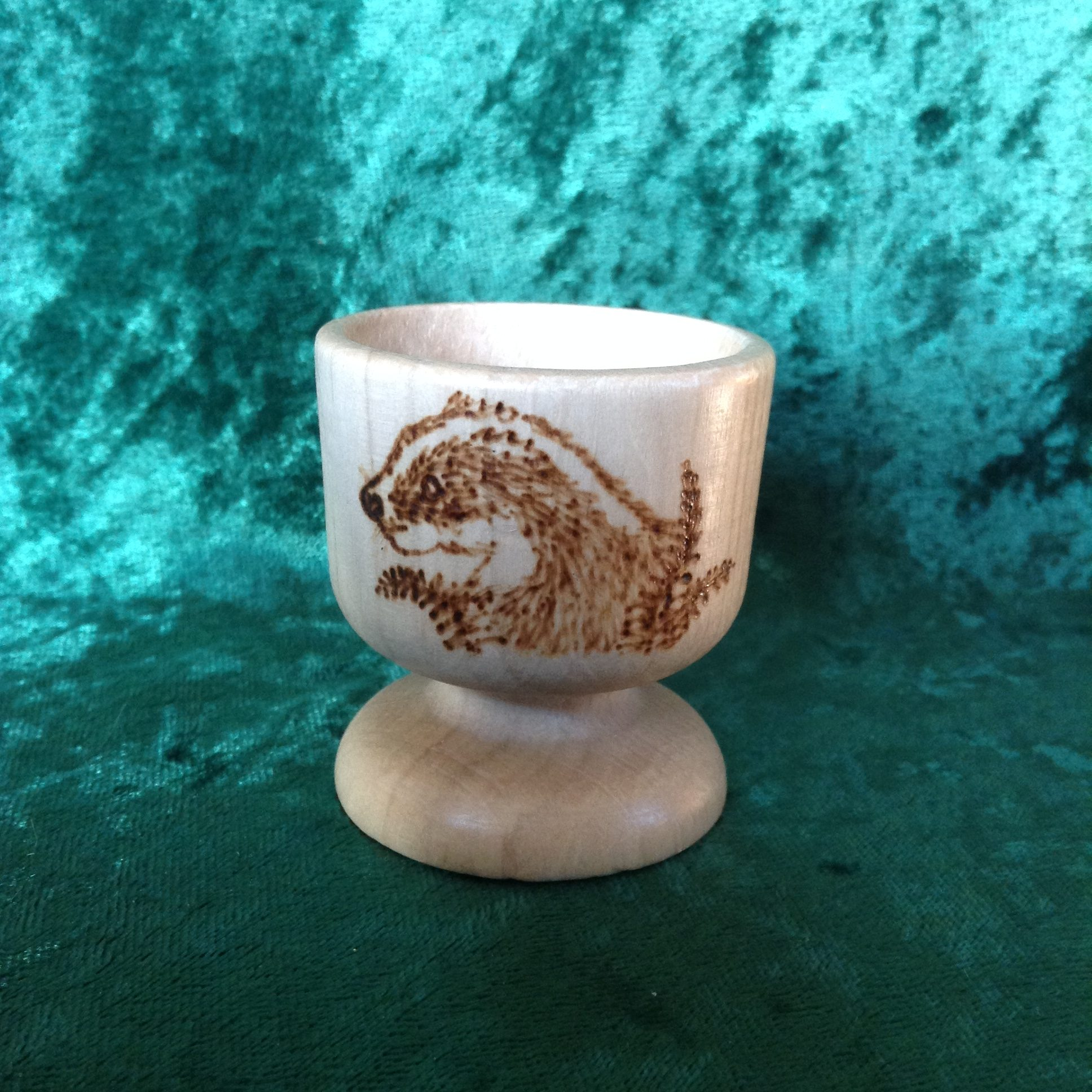 Personalised Egg Cup Blackberry Wedding Designs And