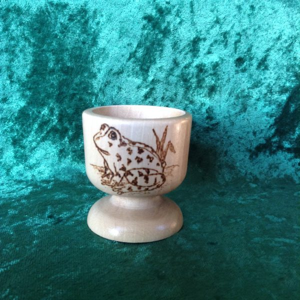 Egg cup - frog